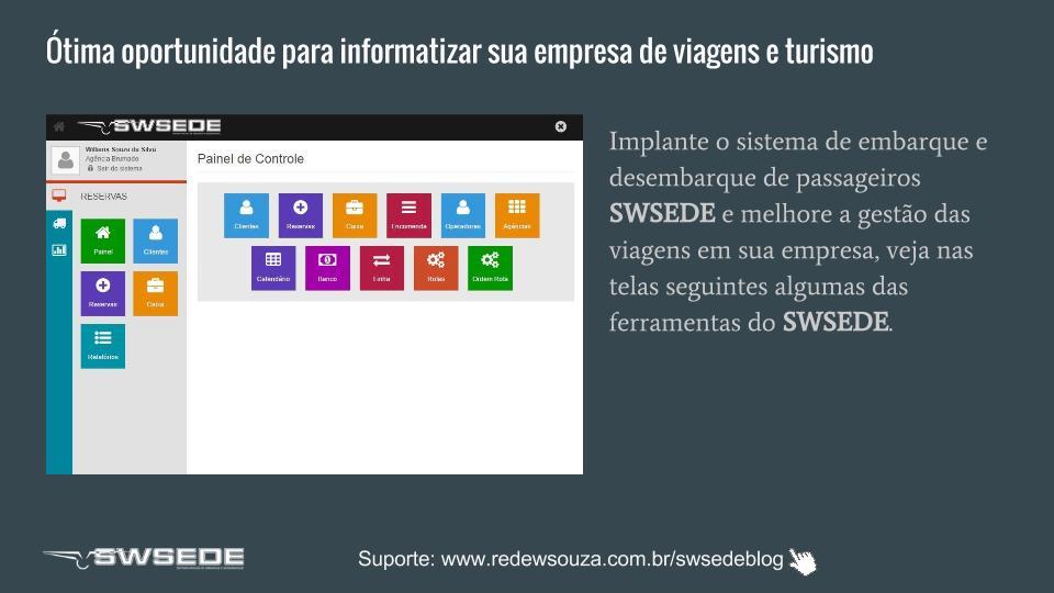 Proposta implantação SWSEDEv1.5